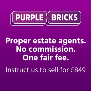 purple bricks visit portishead
