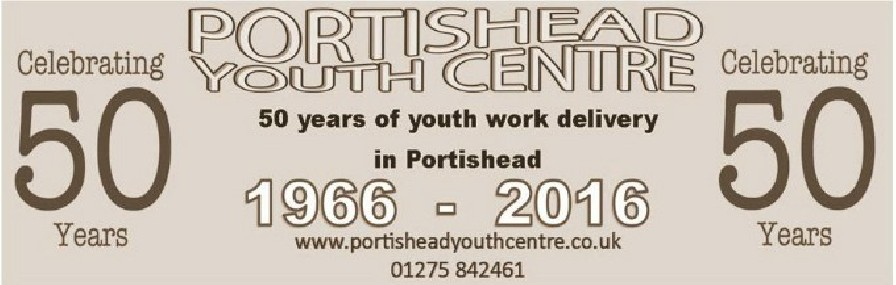 Portishead Youth Centre 50th Anniversary Ticket