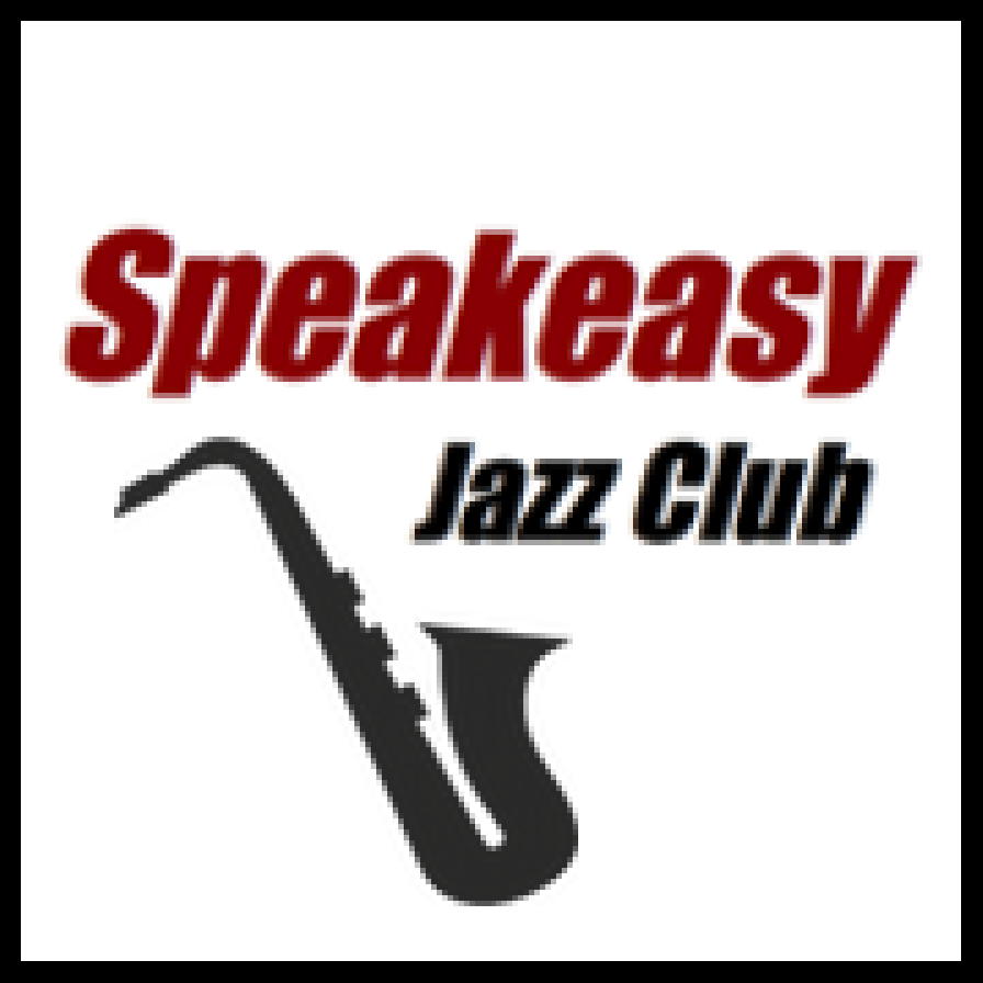 speakeasy jazz club logo