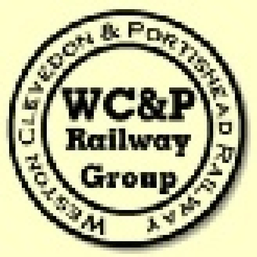 W C and P railway group logo