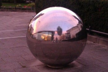 Picture quiz 1: a silver ball